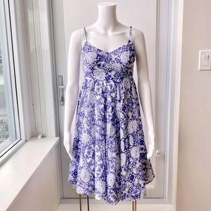 GUESS BY MARCIANO Paisley Floral Sweetheart Dress